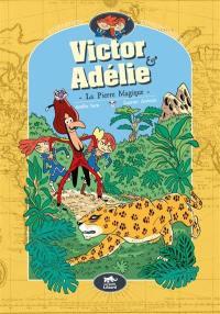Victor & Adélie, aventuriers extraordinaires. Volume 3, La pierre mystérieuse