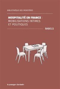 Hospitalité en France