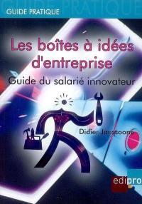 Les boîtes à idées d'entreprise
