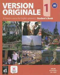 Version originale 1, A1 : a French course for English speakers : student's book
