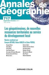 Annales de géographie. n° 717, Les géopatrimoines, de nouvelles ressources territoriales au service du développement local