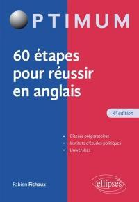 60 étapes pour réussir en anglais
