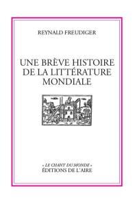 Une brève histoire de la littérature mondiale