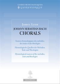 Johann Sebastian Bach, chorals