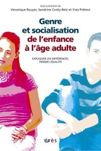 Genre et socialisation de l'enfance à l'âge adulte