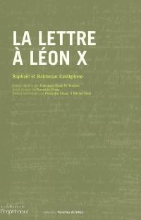 La lettre à Léon X