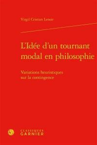 L'idée d'un tournant modal en philosophie