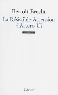 La résistible ascension d'Arturo Ui