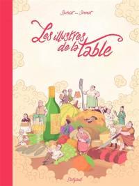 Les illustres de la table