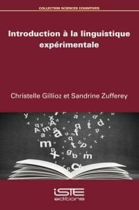 Introduction à la linguistique expérimentale