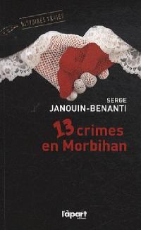 13 crimes en Morbihan