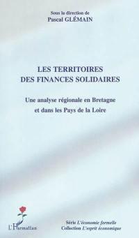 Les territoires des finances solidaires