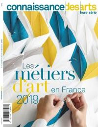 Les métiers d'art en France 2019
