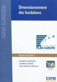 Dimensionnement des fondations