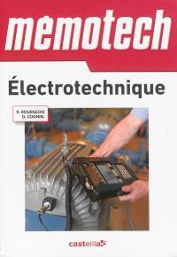 Mémotech électrotechnique : bac technologiques, bac professionnels, BTS électrotechnique, DUT génie électrique, écoles d'ingénieurs