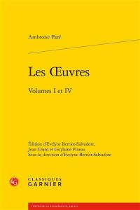 Les oeuvres, volumes I à IV