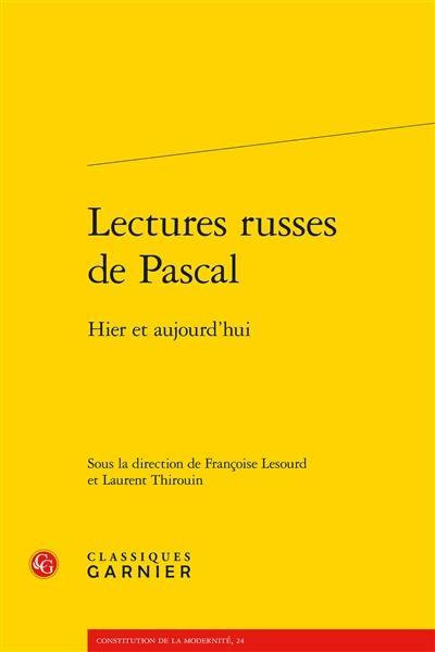 Lectures russes de Pascal