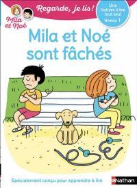Mila et Noé sont fâchés