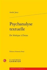 Psychanalyse textuelle