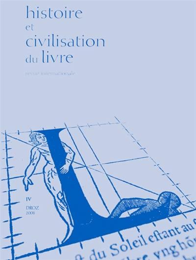 Histoire et civilisation du livre, n° 4. Les langues imprimées