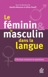 Le féminin et le masculin dans la langue
