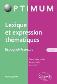 Lexique et expression thématiques