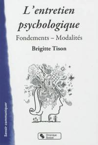 L'entretien psychologique