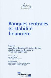 Banques centrales et stabilité financière