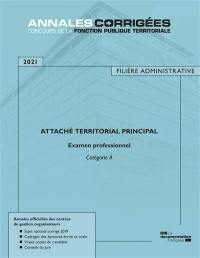 Attaché territorial principal 2021