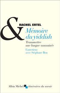Mémoire du yiddish