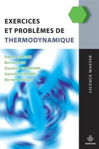 Exercices et problèmes de thermodynamique