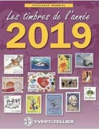 Catalogue de timbres-poste, Nouveautés mondiales de l'année 2019
