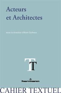 Acteurs et architectes