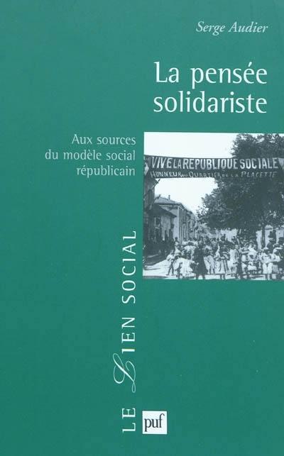 La pensée solidariste