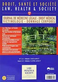 Journal de médecine légale, droit médical, victimologie, dommage corporel. n° 60-1,