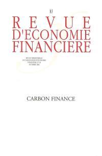 Revue d'économie financière. n° 83, Carbon finance