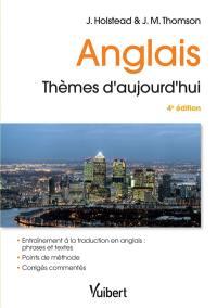 Anglais, thèmes d'aujourd'hui