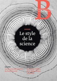 Revue de la Bibliothèque nationale de France. n° 58, Le style de la science