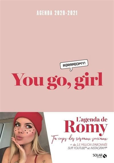 You go, girl : R(rrr)omy !, agenda 2020-2021