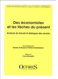 Des économistes et les tâches du présent