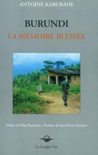 Burundi, la mémoire blessée