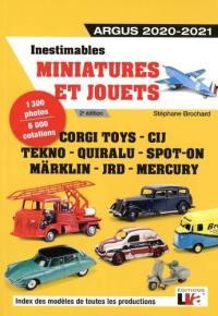 Inestimables miniatures et jouets