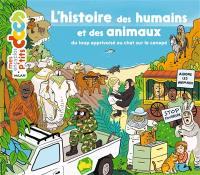 L'histoire des humains et des animaux : du loup apprivoisé au chat sur le canapé