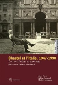 André Chastel et l'Italie, 1947-1990