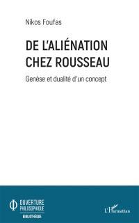 De l'aliénation chez Rousseau