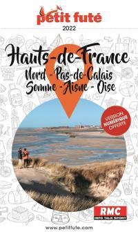 Hauts-de-France : Nord, Pas-de-Calais, Somme, Aisne, Oise : 2022