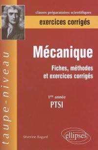Mécanique, PTSI, 1re année
