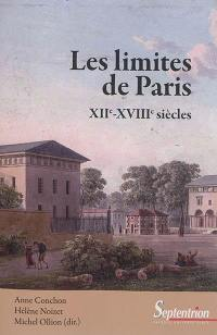 Les limites de Paris