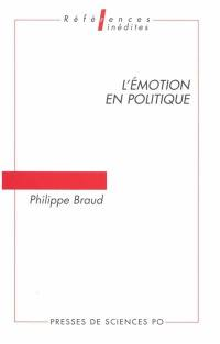 L'émotion en politique