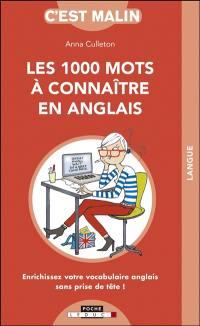 Les 1.000 mots à connaître en anglais